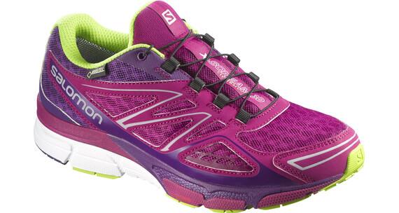 Salomon W's X-Scream 3D GTX Shoes Mystic Purple/Cosmic Purple